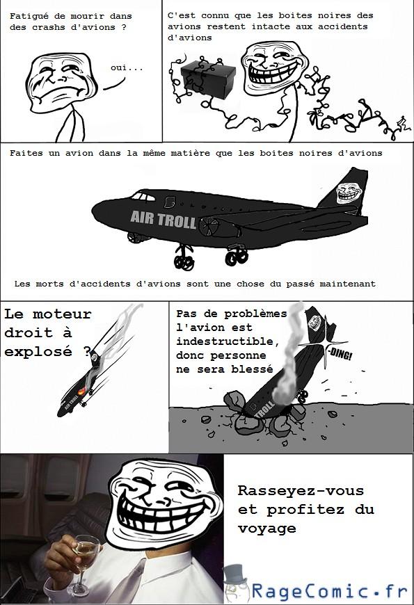 Avions indestructibles