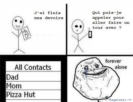 Liste de contact de téléphone