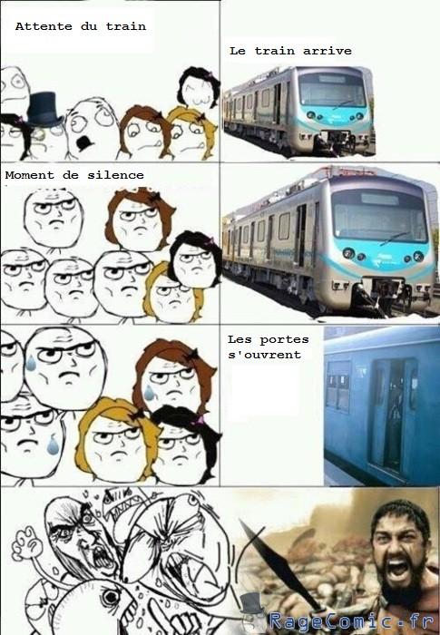 Entrer dans le train