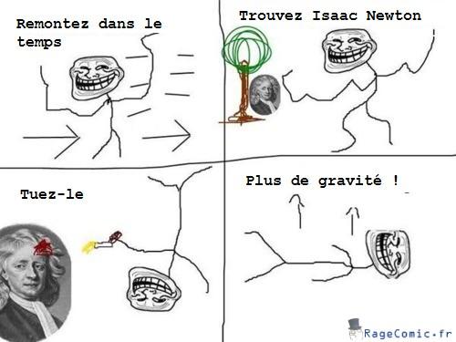 Trouvez Isaac Newton