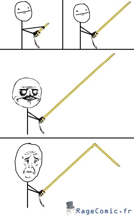 Le mètre déroulant