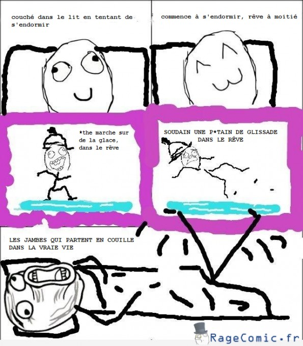 Le rêve trop réaliste