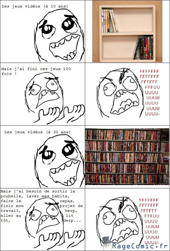 Les jeux vidéos avant et maintenant