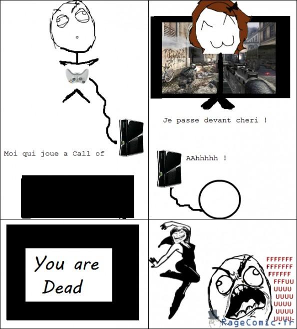 Passe devant l'écran