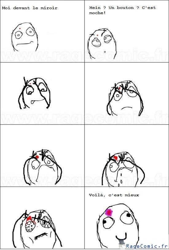 Pétage de bouton