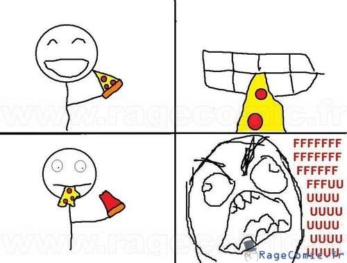 Pizza en deux