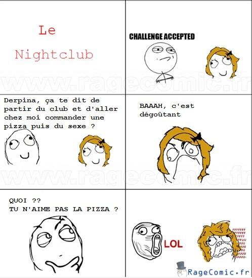 Pizza et sexe