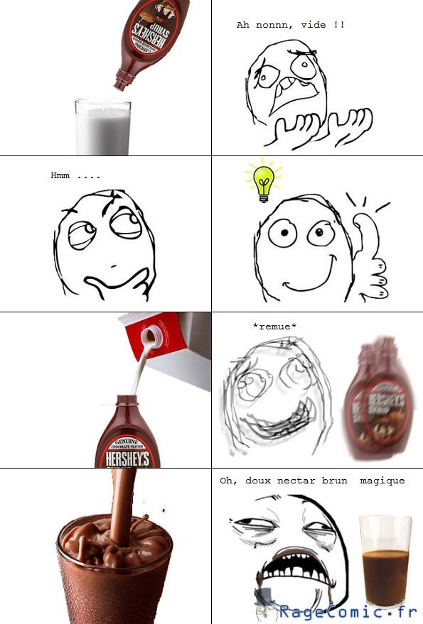 Plus de chocolat