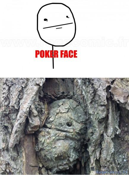 Poker face irl