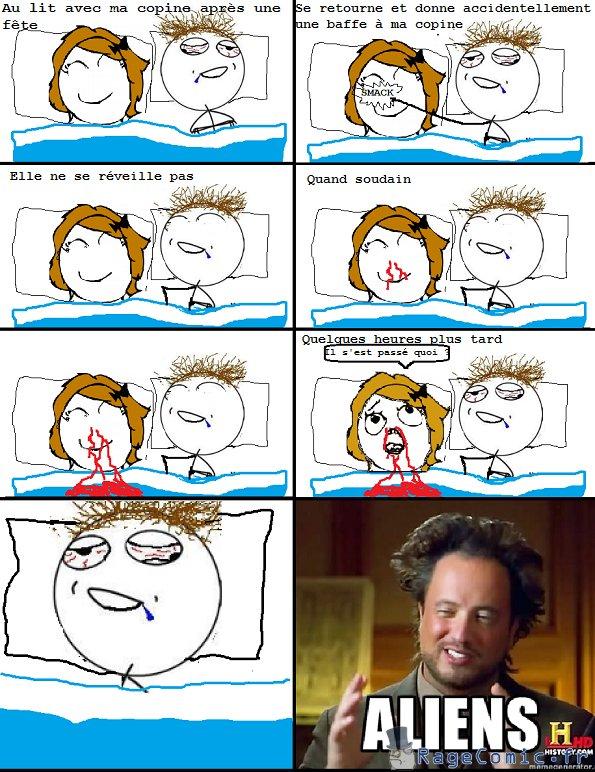 Saigner du nez au lit