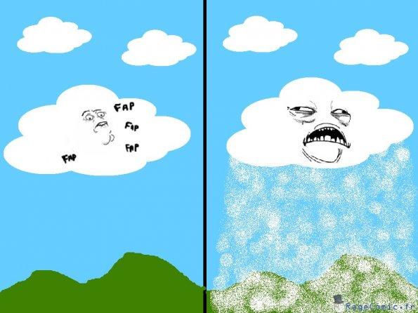 Le nuage se fait plaisir